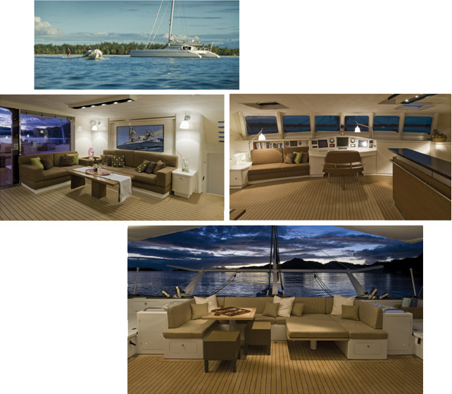 Magic Cat 80' Catamaran - refit